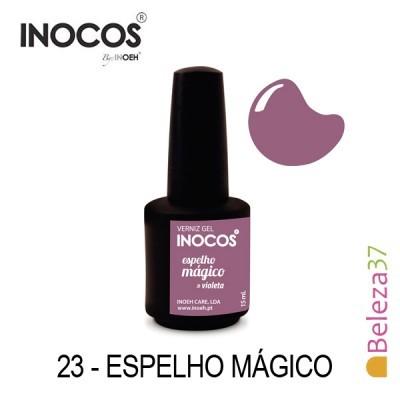 Verniz Gel Inocos 23 — Espelho Mágico (Violeta)
