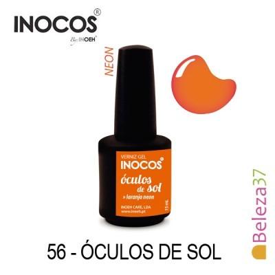 Verniz Gel Inocos 56 — Óculos de Sol (Laranja Neon)