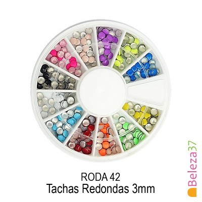 RODA 42 - Tachas Redondas 3mm
