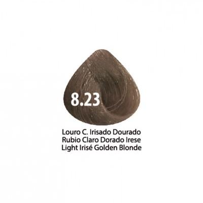 Tinta Violet Keratin Trendy 8.23 - 100ml - LOURO CLARO IRISADO DOURADO