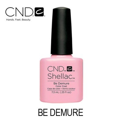 CND Shellac – Be Demure (Rosa Bebé)