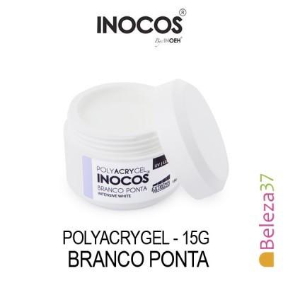 Polyacrygel Inocos - Branco Ponta 15g