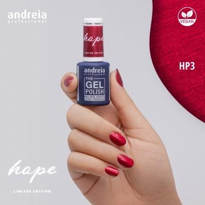 The Gel Polish Andreia HP3 - Vermelho metalizado