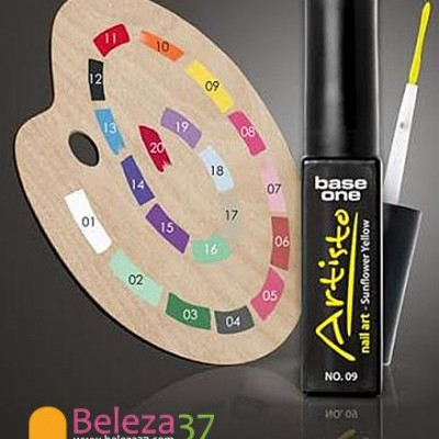 Paint Gel ARTISTO com Pincel para Nail Art