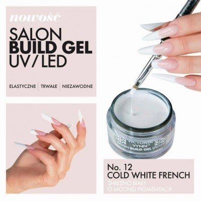 Gel Construtor Victoria Vynn 12 - White French 15ml
