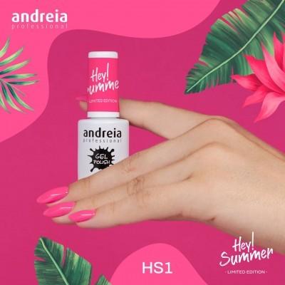 Verniz Gel Andreia HS1 - Rosa Vivo