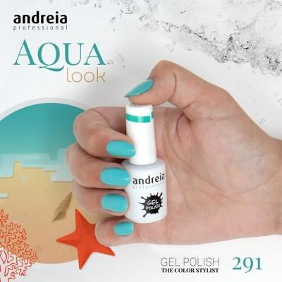 Verniz Gel Andreia 291 (Verde Água)