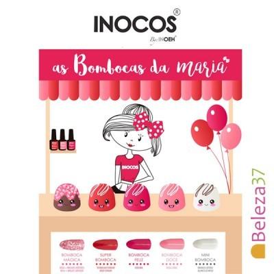 """Verniz Gel Inocos – Coleção """"As Bombocas  da Maria"""" (5 cores 15ml)"""