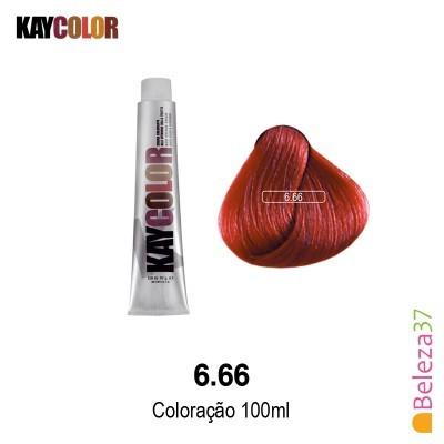 KayColor Coloração 100ml - Cor 6.66