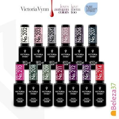 Verniz Gel Victoria Vynn - Coleção 13 Cores (202 ao 214)