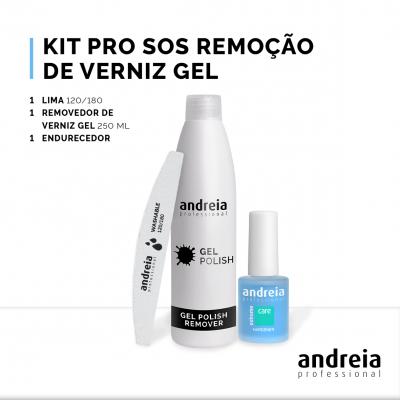 Kit Pro SOS Remoção de Verniz Gel Andreia