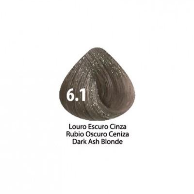Tinta Violet Keratin Trendy 6.1 - 100ml - LOURO  ESCURO CINZA