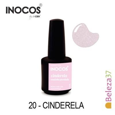 Verniz Gel Inocos 20 — Cinderela (Rosinha Perolado)