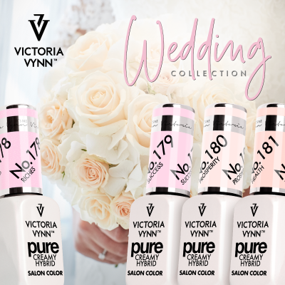 Verniz Gel Victoria Vynn - Wedding Collection (178 ao 181)