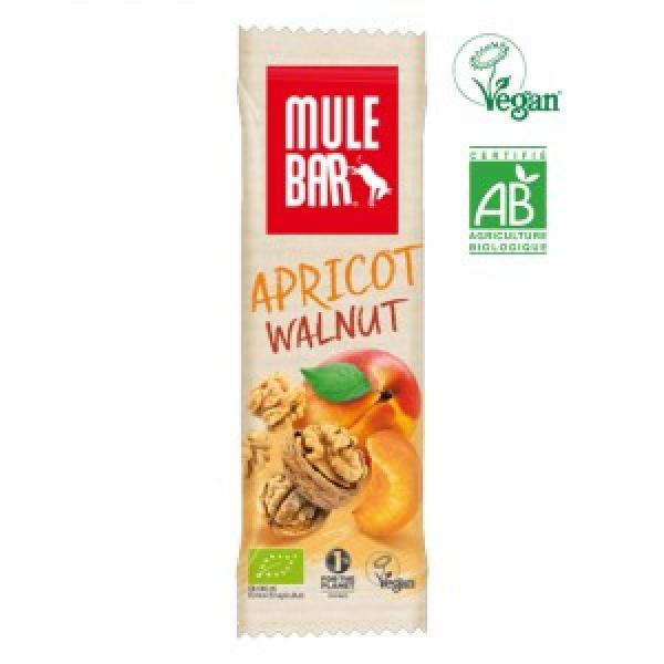 Organic-MULEBAR Alperce e Nozes 40g