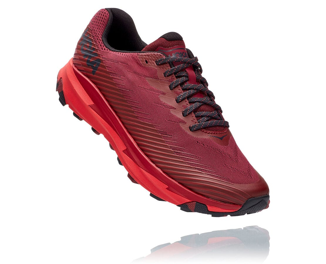 Hoka One One Torrent 2  - Cordovan / High Risk Red
