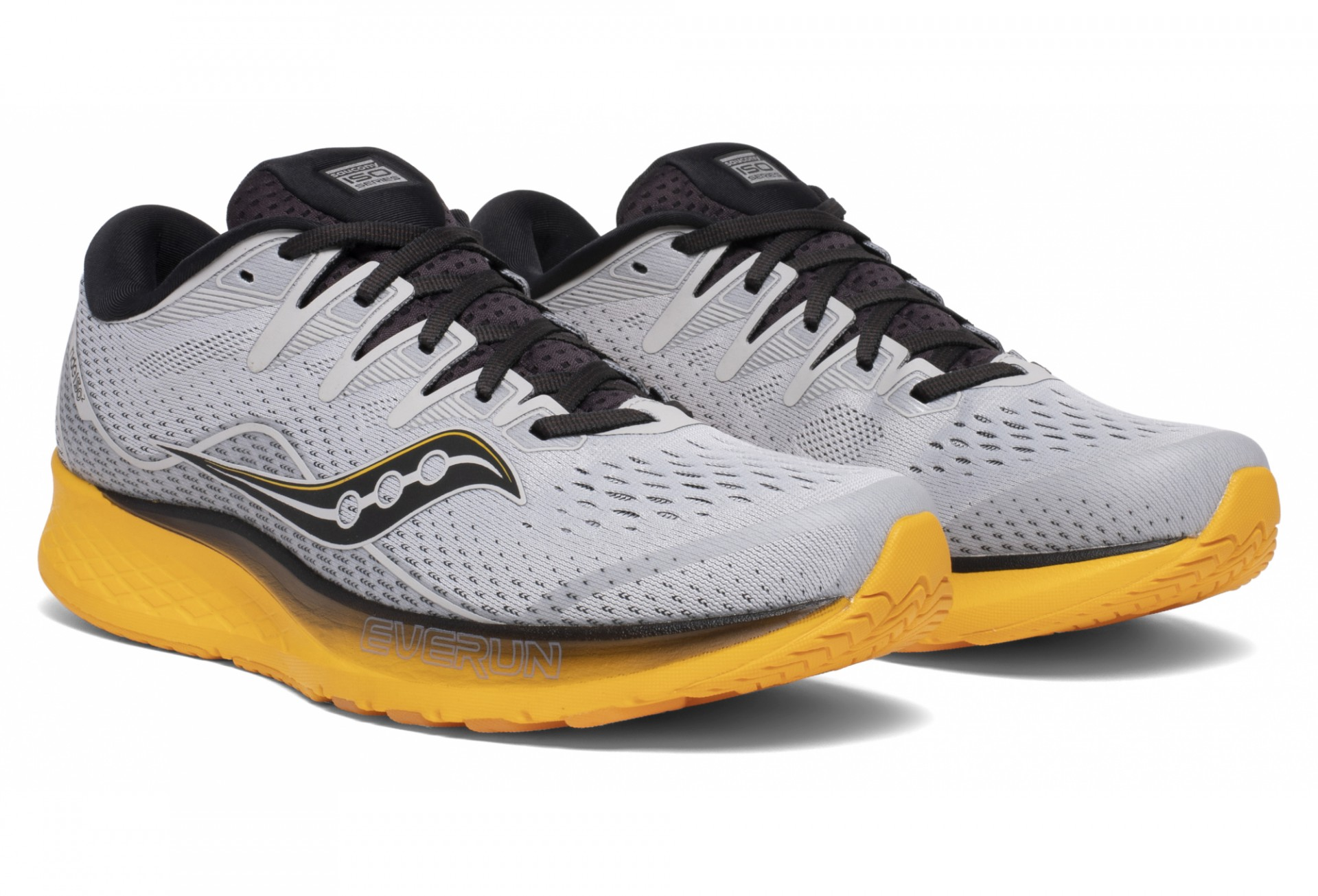 Saucony Ride ISO 2 Grey/Yellow