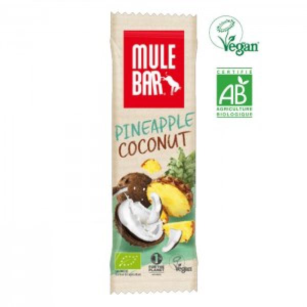 Organic-MULEBAR Ananás e Coco 40G