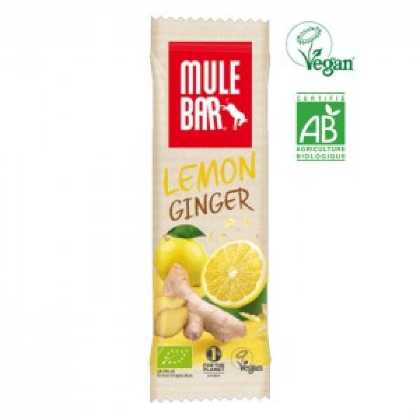 Organic-MULEBAR Limão e Gengibre 40G