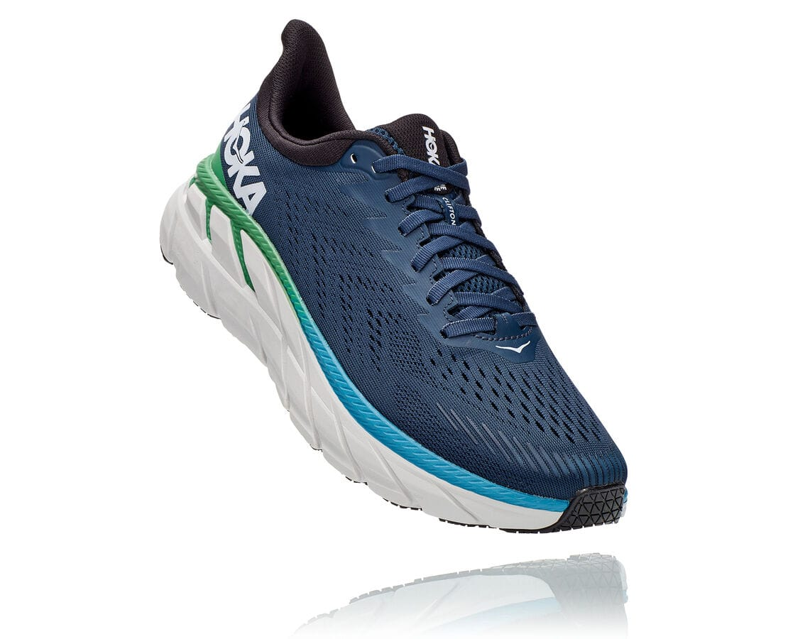 Hoka One One Clifton 7 - Ocean/Anthracit