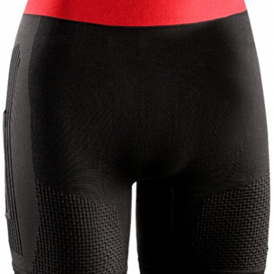 Lurbel TIFON PRO Woman Short - Black/Red
