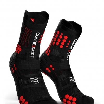 Racing Socks V3.0 Trail Preto/Vermelho