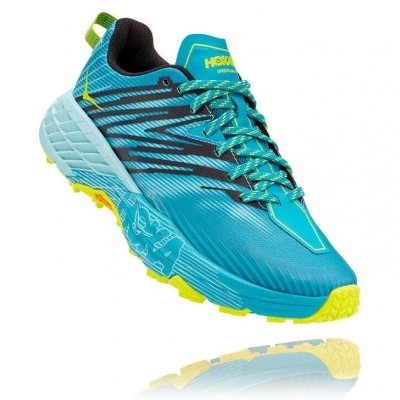 Hoka One One Speedgoat 4 Woman - Capri Breeze / Angel Blue
