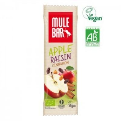 Organic-MULEBAR Maçã, Passas e Canela 40G