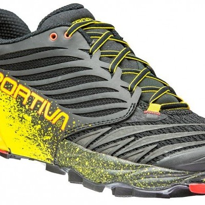 La Sportiva Akasha Black/Yellow