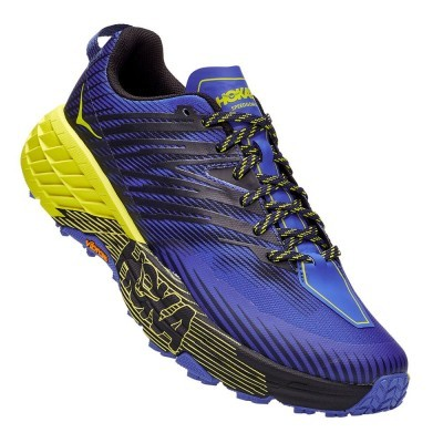 Hoka One One Speedgoat 4 - Black iris / Evening Primrose