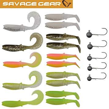 Kit Savage Gear Cannibal L 20pcs