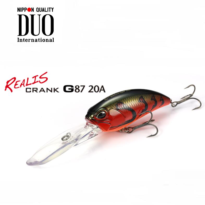 Amostra Duo Realis Crank G87 20A