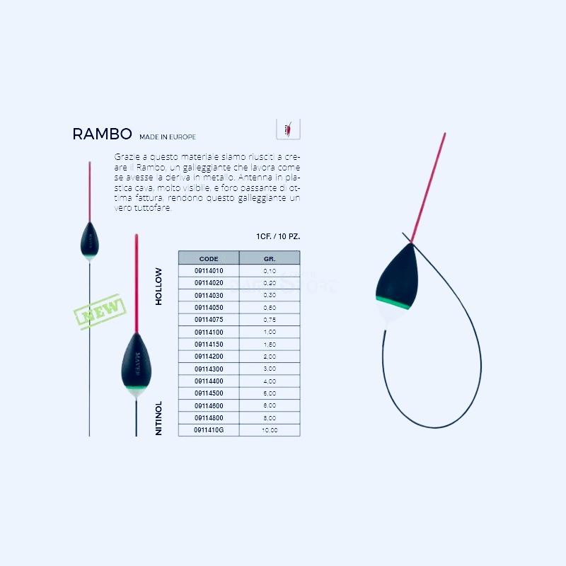 Bóia Maver Rambo Nitinol
