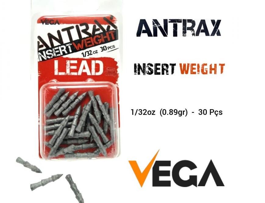Lead Vega Antrax Insert Weight