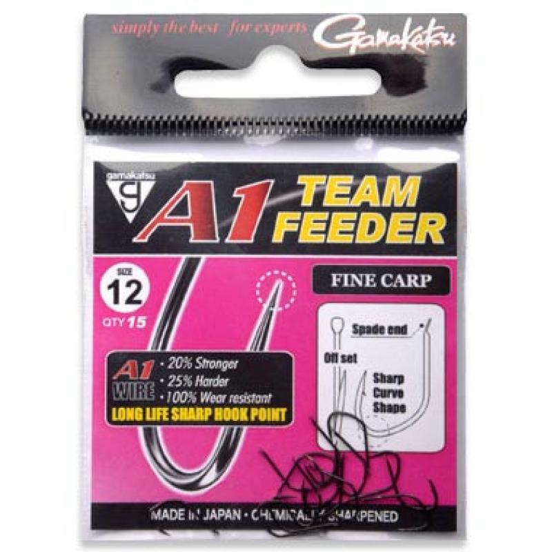 Anzol Gamakatsu A1 Team Feeder Fine Carp