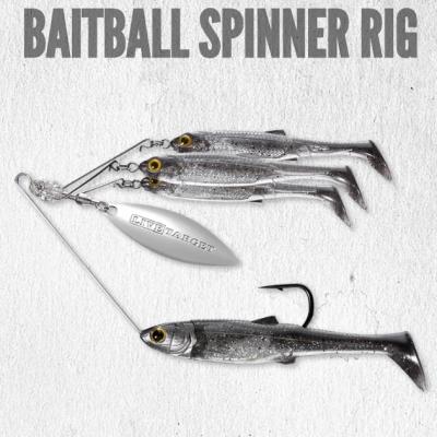 Amostra LiveTarget BaitBall Spinner Rig