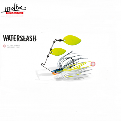 Amostra Molix Spinnerbait WaterSlash