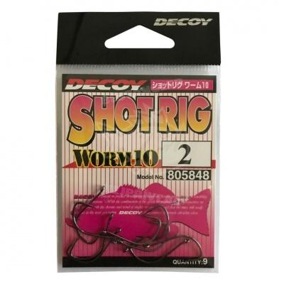 anzol DECOY Worm 10 Shot Rig