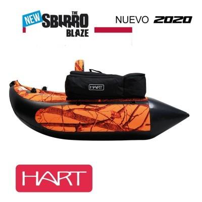 Pato Hart Sbirro Blaze + Barbatanas + Saco Hart Bow