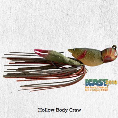 Amostra LiveTarget Hollow Body Craw