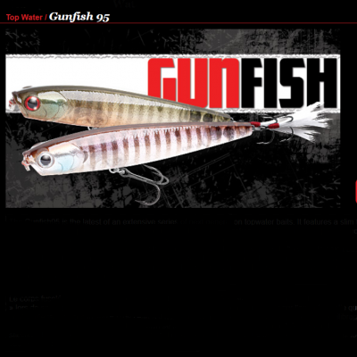 Amostra Lucky Craft Gunfish 95