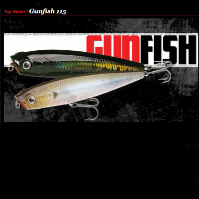 Amostra Lucky Craft Gunfish 115