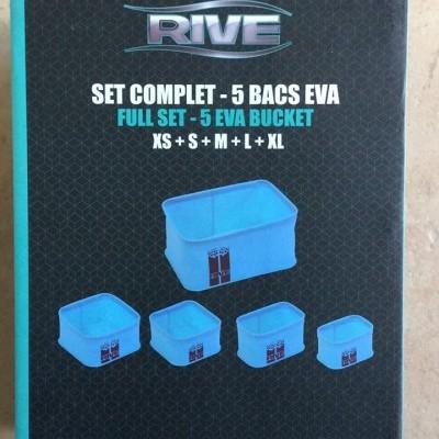 Conjunto Rive EVA Bucket