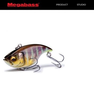 Amostra Megabass Vibration -X Dyna