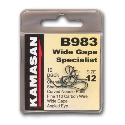 Anzol Kamasan B983 WIDE GAPE SPECIALIST