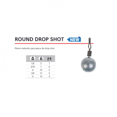 Chumbo DropShot Hart Round