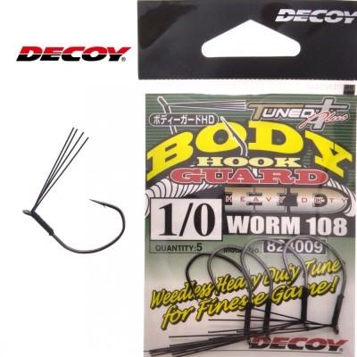 Anzol Decoy Body  Hook Guard Worm 108