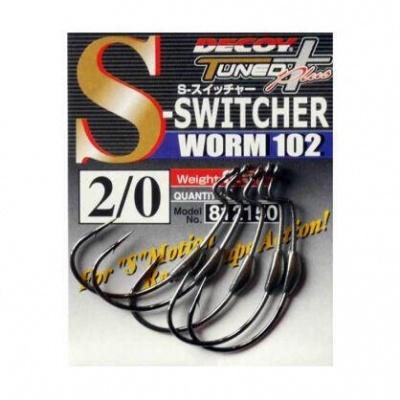 Anzol Decoy Switcher Worm 102 Hooks