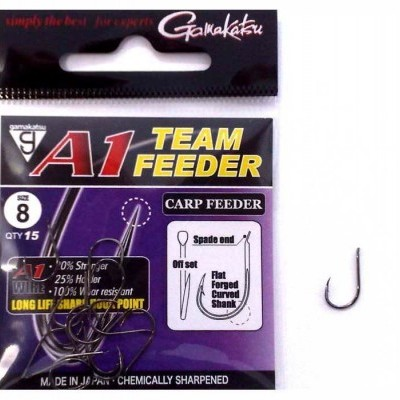 Anzol Gamakatsu A1 Team Feeder  Carp