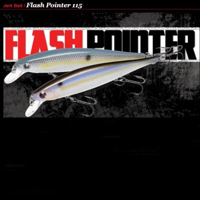 Amostra Lucky Craft Flash Pointer 115